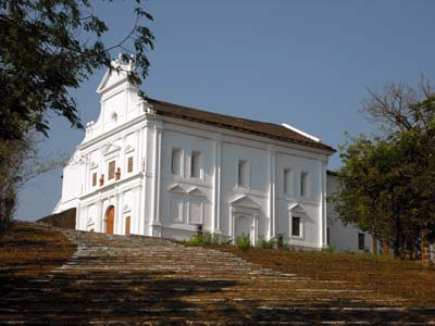 Chapel of Our Lady of the Mount Old Goa
