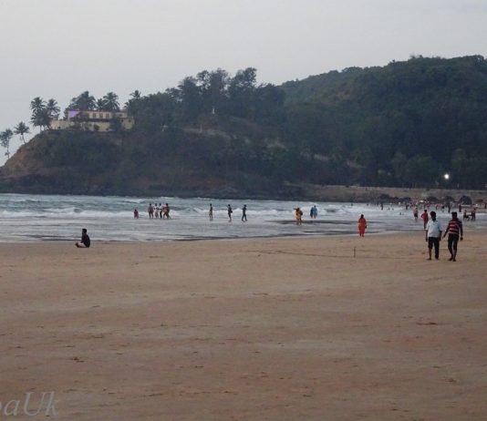 The Baga Beach