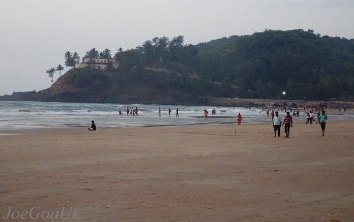 The Baga Beach
